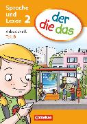 Cover-Bild zu der-die-das, Deutsch-Lehrwerk für Grundschulkinder mit erhöhtem Sprachförderbedarf, Sprache und Lesen, 2. Schuljahr, Arbeitsheft Sprache Teil A und B im Paket von Behle-Saure, Birgit