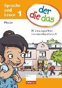 Cover-Bild zu der-die-das, Deutsch-Lehrwerk für Grundschulkinder mit erhöhtem Sprachförderbedarf, Erstlesen, 1. Schuljahr, Poster, 10 Einstiegsbilder des Basisbuches