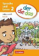 Cover-Bild zu der-die-das, Deutsch-Lehrwerk für Grundschulkinder mit erhöhtem Sprachförderbedarf, Sprache und Lesen, 2. Schuljahr, Arbeitsheft Lesen von Gutzmann, Marion