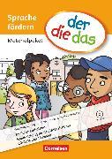 Cover-Bild zu der-die-das, Deutsch-Lehrwerk für Grundschulkinder mit erhöhtem Sprachförderbedarf, Sprache fördern, Materialpaket, Handreichungen für den Unterricht mit CD-ROM und 10 Poster von Kaiser, Christine M.