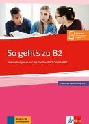 Cover-Bild zu So geht's zu B2. Buch + Onlineangebot von Loumiotis, Uta