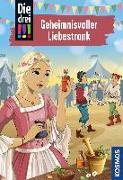 Cover-Bild zu Die drei !!!, 87, Geheimnisvoller Liebestrank von Heger, Ann-Katrin