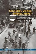 Cover-Bild zu Sieber, Markus: Schneller, weiter, billiger, mehr?
