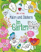 Cover-Bild zu Malen und Stickern: Im Garten von Brooks, Felicity