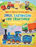 Cover-Bild zu Meine kleine Stickerwelt: Züge, Lastwagen und Traktoren von Brooks, Felicity