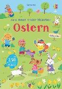 Cover-Bild zu Mein Immer-wieder-Stickerbuch: Ostern von Brooks, Felicity