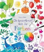 Cover-Bild zu Die kunterbunte Welt der Farben von Brooks, Felicity