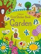 Cover-Bild zu First Sticker Book Garden von Brooks, Felicity