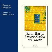 Cover-Bild zu Unsere Seelen bei Nacht (Audio Download) von Haruf, Kent