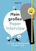 Cover-Bild zu Vliet, Elma van: Mein großes Papa-Interview