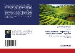 Cover-Bild zu Measurement - Reporting - Verification (MRV) System von Mai Kim Lien, Pham Thanh Long