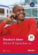 Cover-Bild zu Billina, Anneli: Deutsch üben - Hören & Sprechen A2