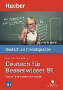 Cover-Bild zu Billina, Anneli: Deutsch üben Deutsch für Besserwisser B1