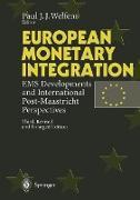 Cover-Bild zu Welfens, Paul J. J. (Hrsg.): European Monetary Integration
