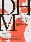 Cover-Bild zu Historische Urteilskraft 03 von Gross, Raphael (Hrsg.)