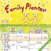 Cover-Bild zu Familienplaner Cartoon 2022 - Broschürenkalender 30x30 cm (30x60 geöffnet) - Kalender mit Platz für Notizen - 6 Spalten - Bildkalender - Wandplaner von ALPHA EDITION (Hrsg.)