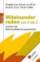 Cover-Bild zu Miteinander reden von A bis Z (eBook) von Schulz von Thun, Friedemann