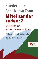 Cover-Bild zu Miteinander reden 2 (eBook) von Schulz von Thun, Friedemann