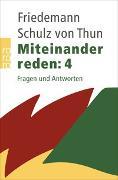 Cover-Bild zu Miteinander reden: Fragen und Antworten von Schulz von Thun, Friedemann