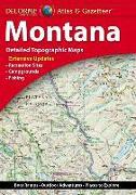 Cover-Bild zu Rand Mcnally: Delorme Atlas & Gazetteer: Montana