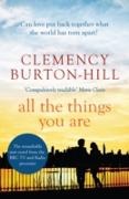 Cover-Bild zu Burton-Hill, Clemency: All The Things You Are (eBook)