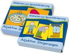 Cover-Bild zu PAKET Bildkarten zur Sprachförderung: Adjektive von Boretzki, Anja (Illustr.)