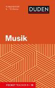 Cover-Bild zu Pocket Teacher Musik 5.-10. Klasse von Mittelstädt, Holger