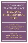 Cover-Bild zu Kretzmann, Norman (Hrsg.): The Cambridge Translations of Medieval Philosophical Texts