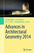 Cover-Bild zu Advances in Architectural Geometry 2014 von Block, Philippe (Hrsg.)