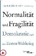 Cover-Bild zu Normalität und Fragilität (eBook) von Müller, Tim B. (Hrsg.)