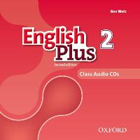 Cover-Bild zu English Plus: Level 2: Class Audio CDs von Wetz, Ben