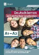 Cover-Bild zu Deutsch lernen mit einfachen Lesetexten A1-A2 von Bößel, Christiane