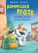 Cover-Bild zu Kommissar Pfote (Band 3) - Schnüffel-Einsatz auf dem Schulhof von Reider, Katja