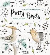 Cover-Bild zu Geburtstagskalender Pretty Birds von Korsch, Verlag (Hrsg.)