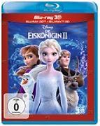 Cover-Bild zu Die Eiskönigin 2 - 3D + 2D Deluxe Set von Buck, Chris (Reg.)