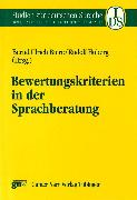Cover-Bild zu Hoberg, Rudolf (Hrsg.): Bewertungskriterien in der Sprachberatung (eBook)