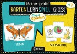 Cover-Bild zu Clever Spielen - Meine große KartenLernSpiel-Box - Silben/Selbstlaute von Loewe Lernen und Rätseln (Hrsg.)