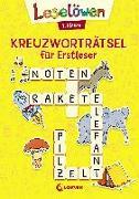 Cover-Bild zu Leselöwen Kreuzworträtsel für Erstleser - 1. Klasse (Gelb) von Loewe Lernen und Rätseln (Hrsg.)