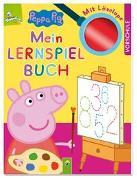 Cover-Bild zu Peppa Pig - Mein Lernspielbuch mit Löselupe