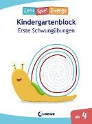 Cover-Bild zu Die neuen LernSpielZwerge - Erste Schwungübungen von Loewe Lernen und Rätseln (Hrsg.)