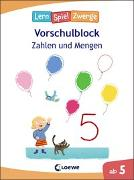 Cover-Bild zu Die neuen LernSpielZwerge - Zahlen und Mengen von Loewe Lernen und Rätseln (Hrsg.)