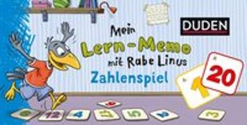 Cover-Bild zu Mein Lern-Memo mit Rabe Linus - Zahlenspiel von Raab, Dorothee