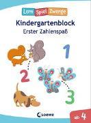 Cover-Bild zu Die neuen Lernspielzwerge - Erster Zahlenspaß von Loewe Lernen und Rätseln (Hrsg.)