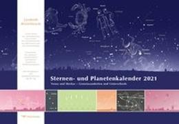 Cover-Bild zu Sternen- und Planetenkalender 2021