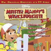 Cover-Bild zu Bingenheimer, Gabriele: Disney Meister Manny's Werkzeugkiste - Folge 3 (Audio Download)