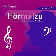Cover-Bild zu Hörmalzu - Musikinstrumente konzentriert wahrnehmen. CD von Rehm, Angelika