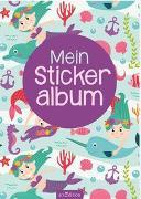 Cover-Bild zu Mein Stickeralbum - Meerjungfrauen