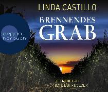 Cover-Bild zu Brennendes Grab von Castillo, Linda
