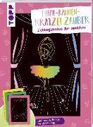 Cover-Bild zu Bunte Rahmen Kratzelzauber Lieblingsmotive für Mädchen von frechverlag