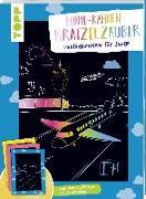 Cover-Bild zu Bunte Rahmen Kratzelzauber Lieblingsmotive für Jungs von frechverlag